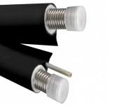 Гофрированная стальная труба в изоляции нанофлекс 5 mm