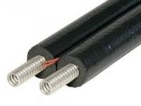 Гофрированная стальная труба в изоляции 13mm