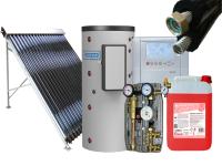 Sisteme solare pentru repararea apei calde