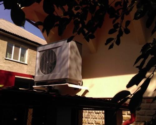 Тепловой насос воздух- вода NIBE F2300 20kw